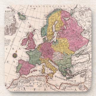 Map of Europe 3 Coaster