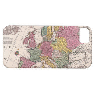 Map of Europe 3 iPhone 5 Cover
