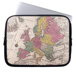 Map of Europe 3 Laptop Sleeve