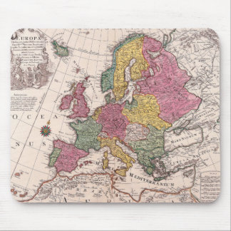 Map of Europe 3 Mouse Mat
