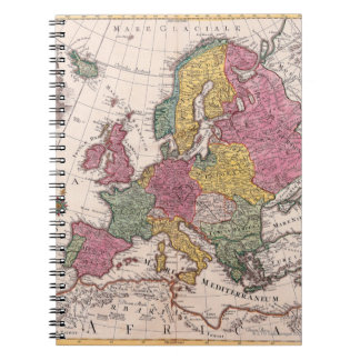 Map of Europe 3 Notebook