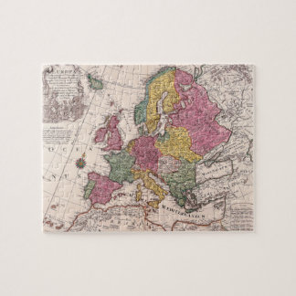 Map of Europe 3 Puzzles