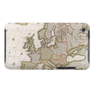 Map of Europe 4 Barely There iPod Cover