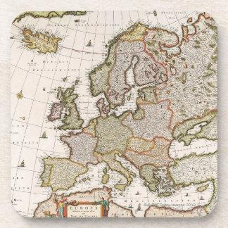 Map of Europe 4 Coaster