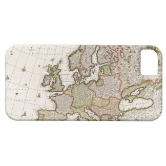Map of Europe 4 iPhone 5 Case