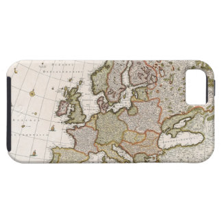Map of Europe 4 iPhone 5 Cases