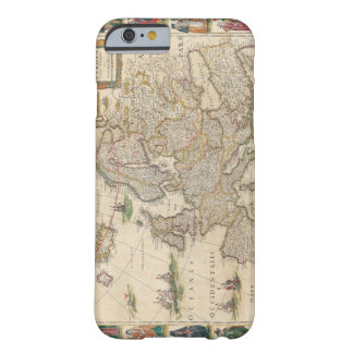 Map of Europe 6 Barely There iPhone 6 Case