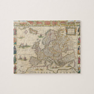 Map of Europe 6 Jigsaw Puzzle