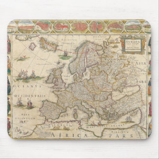 Map of Europe 6 Mouse Mat