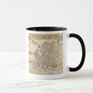 Map of Europe 6 Mug