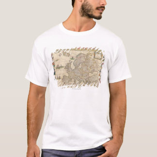 Map of Europe 6 T-Shirt