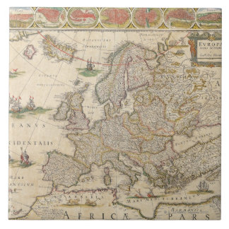 Map of Europe 6 Tile