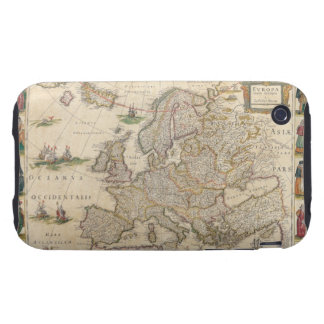 Map of Europe 6 Tough iPhone 3 Cases