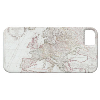 Map of Europe 7 Barely There iPhone 5 Case