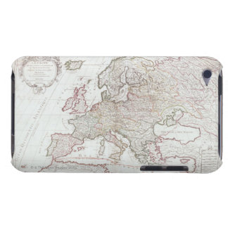 Map of Europe 7 iPod Touch Cases
