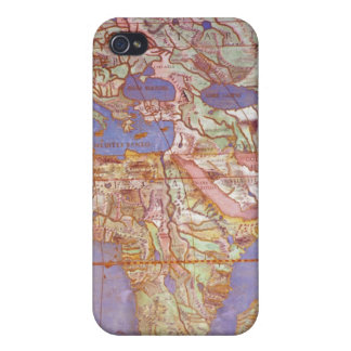 Map of Europe and Africa Cover For iPhone 4