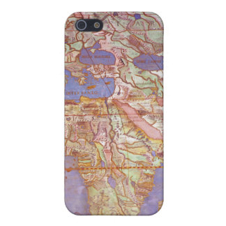 Map of Europe and Africa iPhone 5 Case