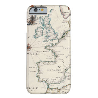Map of Europe Barely There iPhone 6 Case
