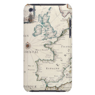 Map of Europe Barely There iPod Cases