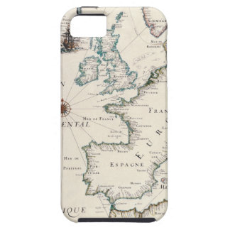 Map of Europe Case For The iPhone 5