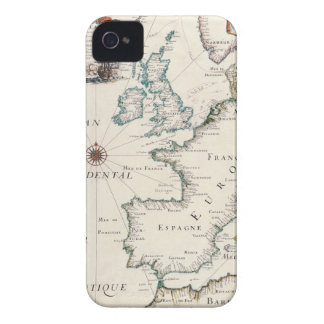 Map of Europe Case-Mate iPhone 4 Case