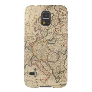 Map of Europe Galaxy S5 Covers