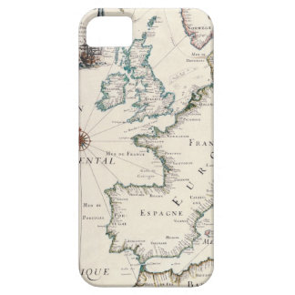 Map of Europe iPhone 5 Cases