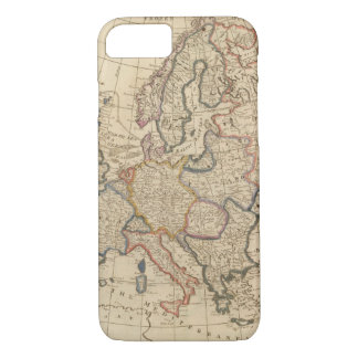 Map of Europe iPhone 8/7 Case