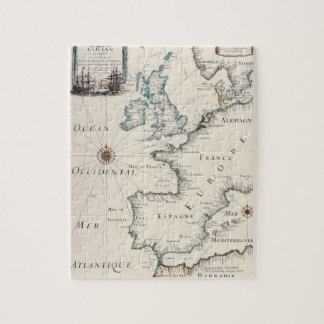 Map of Europe Jigsaw Puzzle