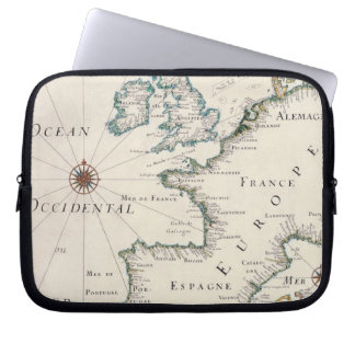 Map of Europe Laptop Computer Sleeves