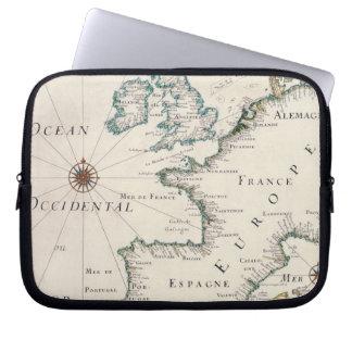 Map of Europe Laptop Sleeve