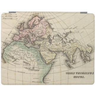map of Europe, Northern Africa and Southeast Asia iPad Cover