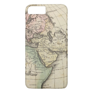 map of Europe, Northern Africa and Southeast Asia iPhone 8 Plus/7 Plus Case