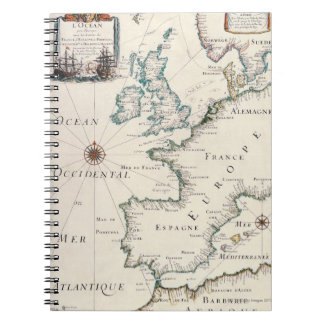 Map of Europe Notebook