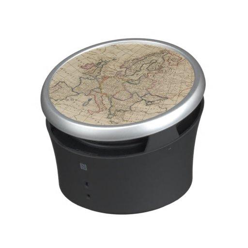 Map of Europe Bluetooth Speaker