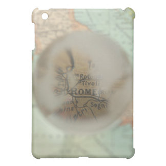 Map of Europe seen through crystal ball 2 Case For The iPad Mini