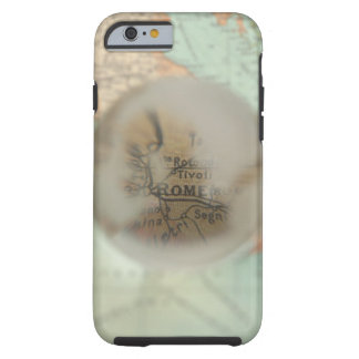Map of Europe seen through crystal ball 2 Tough iPhone 6 Case