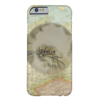 Map of Europe seen through crystal ball 3 Barely There iPhone 6 Case