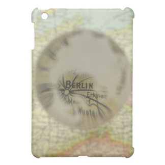 Map of Europe seen through crystal ball 3 Cover For The iPad Mini