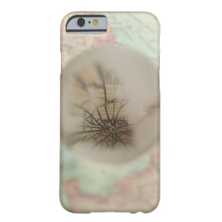 Map of Europe seen through crystal ball 4 Barely There iPhone 6 Case