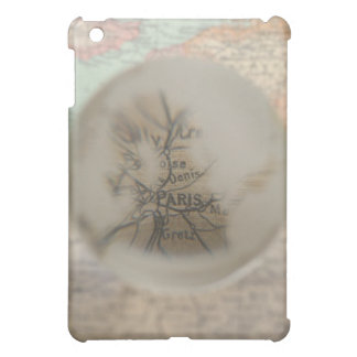 Map of Europe seen through crystal ball 5 iPad Mini Cover