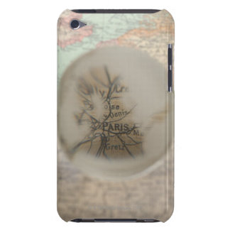 Map of Europe seen through crystal ball 5 iPod Case-Mate Cases