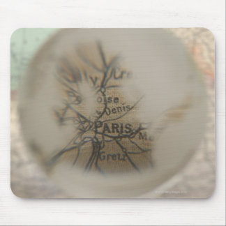 Map of Europe seen through crystal ball 5 Mouse Mat