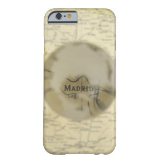 Map of Europe seen through crystal ball Barely There iPhone 6 Case