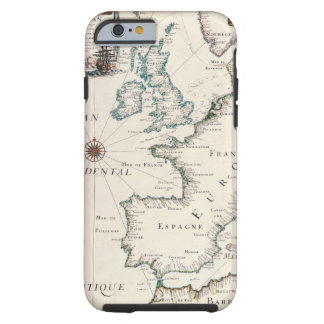 Map of Europe Tough iPhone 6 Case