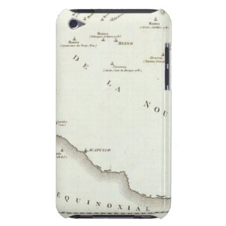 Map of false position in Mexico Barely There iPod Case