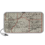 Map of Fayette County, Mt Vernon and McLeansboro Laptop Speakers