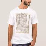 Map of Fayette County, Mt Vernon and McLeansboro T-Shirt
