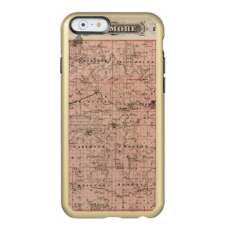 Map of Fillmore County, Minnesota Incipio Feather® Shine iPhone 6 Case