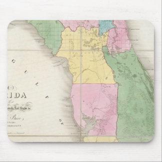 Map of Florida 2 Mouse Mat